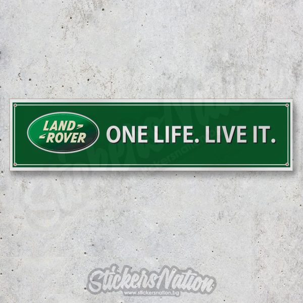 land rover one life